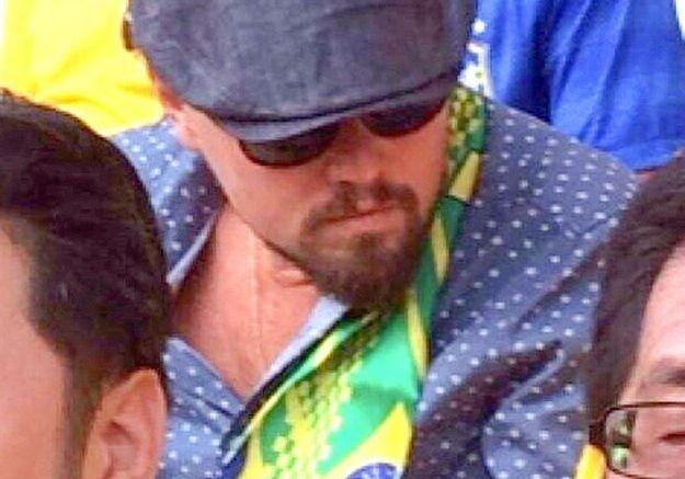 Leonardo DiCaprio débarque au Brésil
