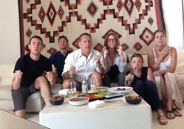 Tom Hanks, fan de football