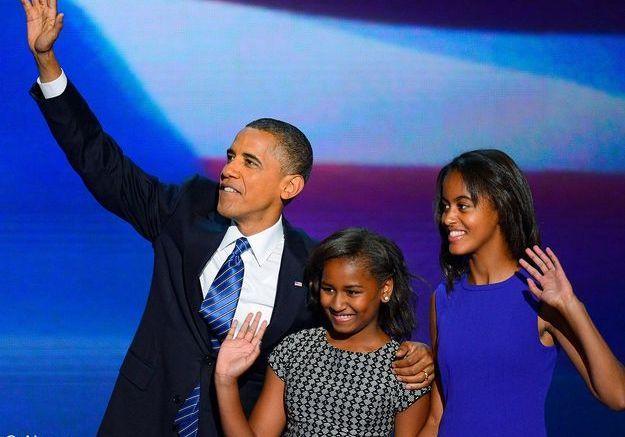 2 Elections americaines barack obama malia sasha