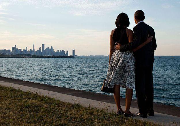 Love story : huit ans d'amour des Obama