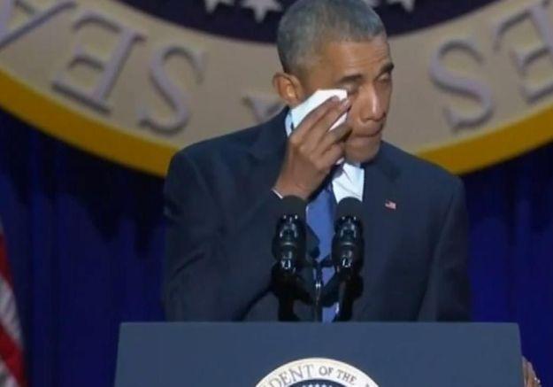 Réécoutez le discours d'adieu d'Obama