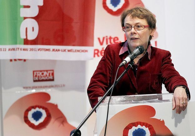 Martine Billard, co-présidente du Parti de gauche