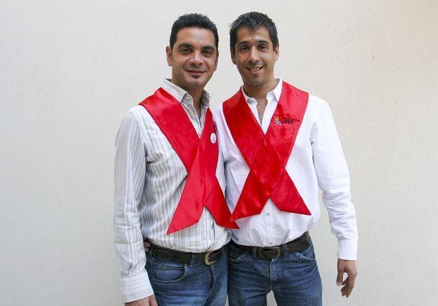 José Maria Di Bello et Alejandro Freyre, en Argentine