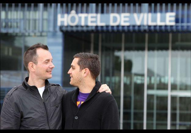 Vincent Autin et Bruno en France