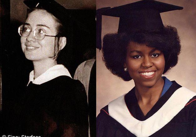 Michelle obama hillary clinton