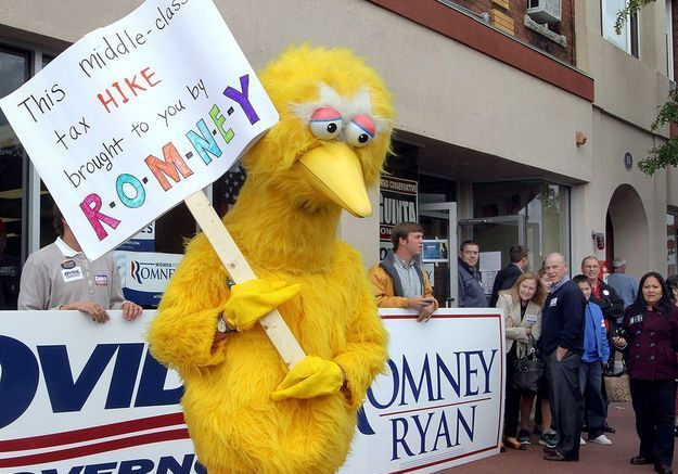 Mitt Romney adore « Big Bird » et les Beatles