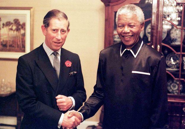 Le prince Charles et Madiba