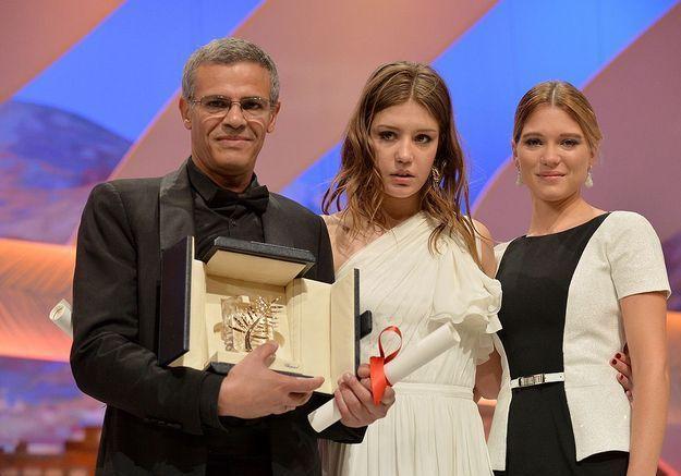 Léa Seydoux, Adèle Exarchopoulos et Abdellatif Kechiche sacrés à Cannes