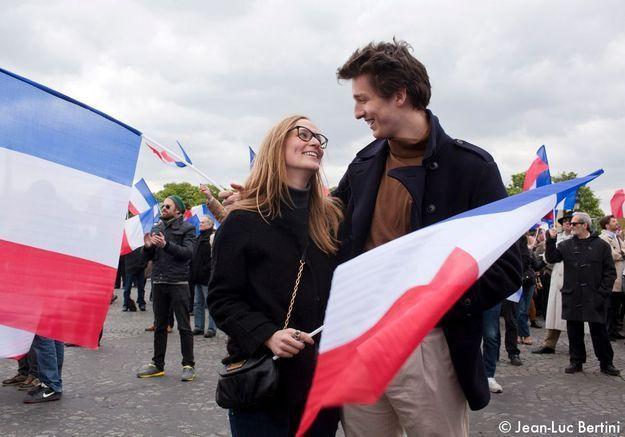 Looks de campagne meeting Nicolas Sarkozy