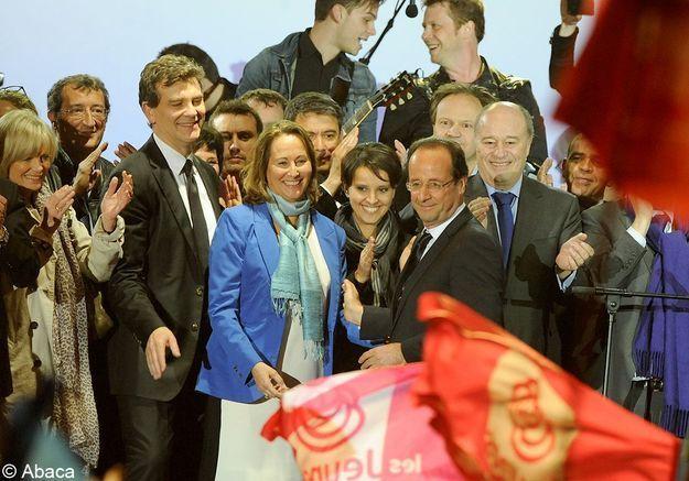 Ségolène Royal, François Hollande