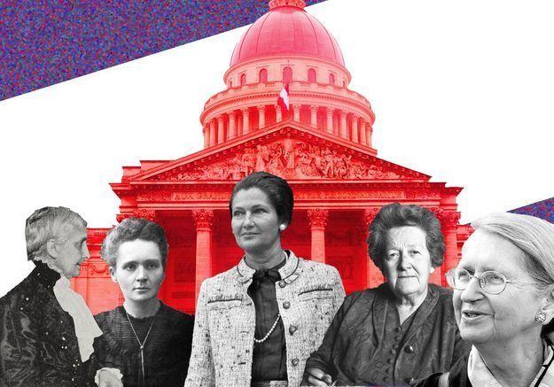 Qui sont les femmes qui reposent au Panthéon ?