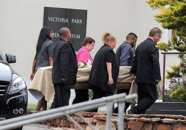 Des funérailles privées