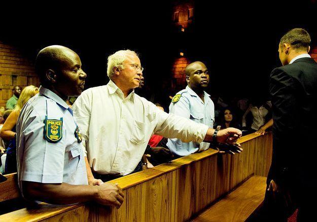 Le clan Pistorius solidaire