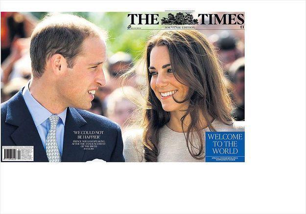 Royal baby : le top 10 des unes de la presse anglophone