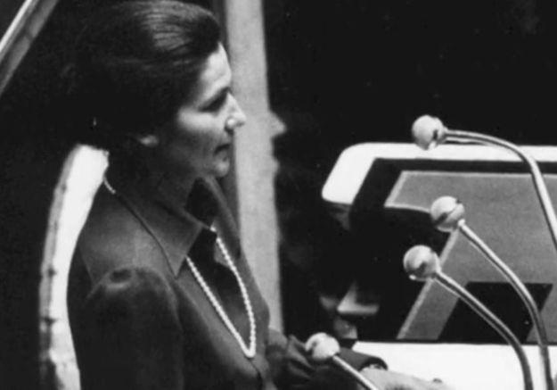 En vidéo, le discours historique de Simone Veil