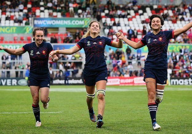 La médaille de bronze des rugbywomen françaises