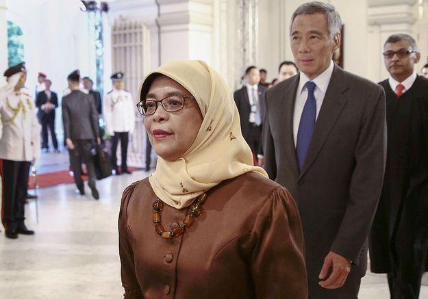 Une femme pour la première fois présidente de Singapour
