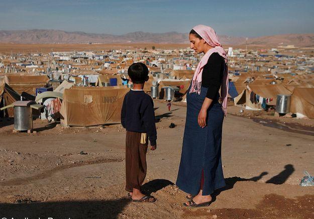 1000 personnes chaque jour, camp de Dormiz, Irak