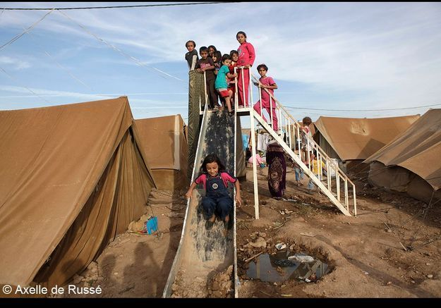 Des enfants frappés par la guerre