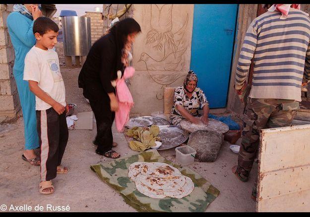 Des rations ditribuées par l'UNHCR