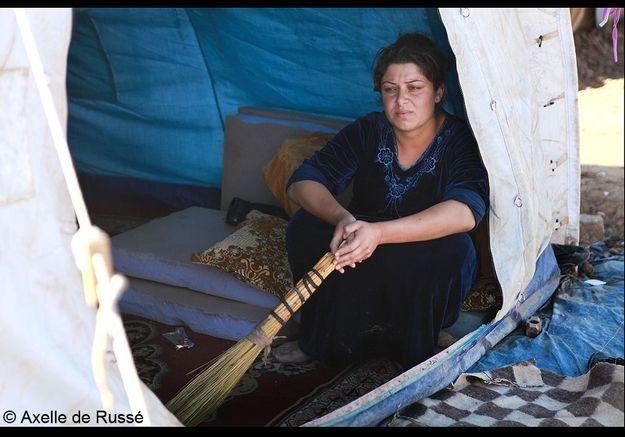 Le quotidien des femmes dans le camp