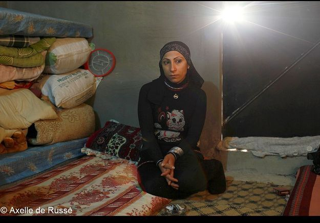 Peu de femmes seules parmi les réfugiés