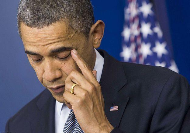 Les larmes de Barack Obama