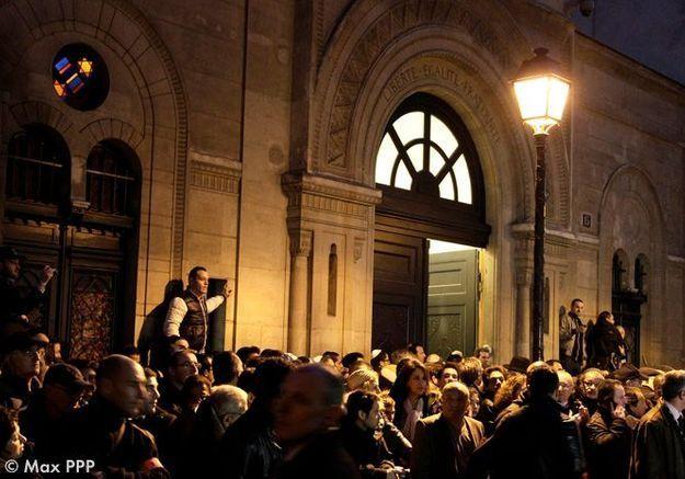 Rassemblement Synagogue Paris