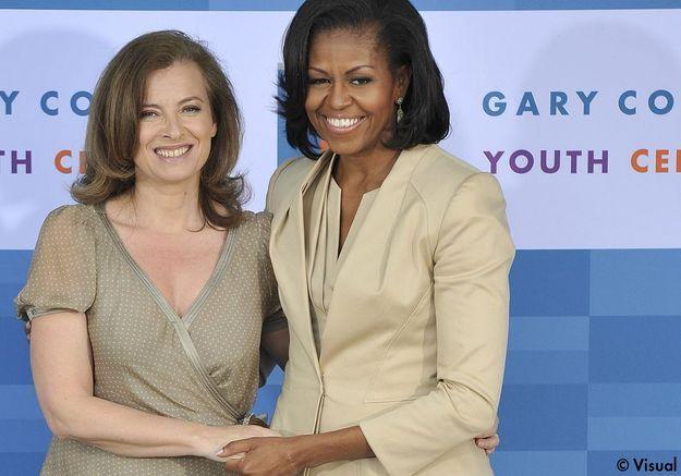 Michelle Obama, nouvelle copine de Valérie Trierweiler