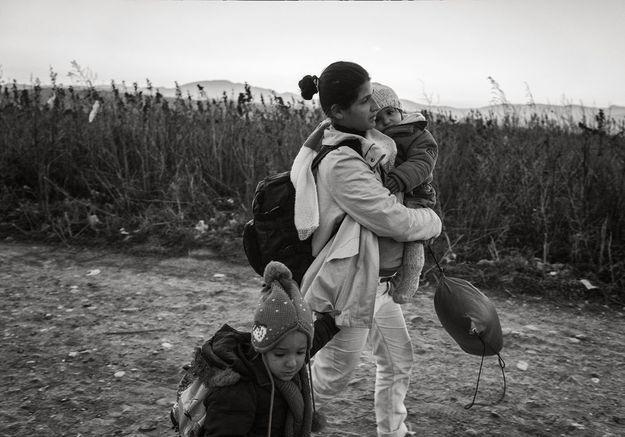 Visa pour l'image : ces femmes qui fuient l'enfer