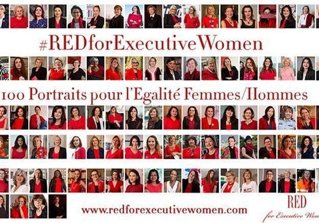 100 femmes inspirantes posent pour l'égalité femmes-hommes