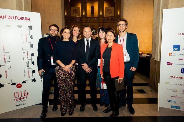 L'équipe AXA France au rendez-vous