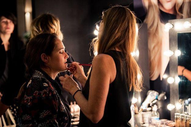 Les professionnels de L'Oréal Paris aux petits soins