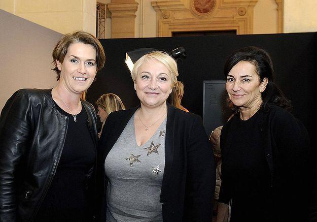 Isabelle Guyony-Hovasse, L'Oréal Paris, la secrétaire d'Etat Pascale Boistard et Constance Benqué, ELLE