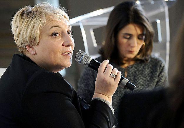La secrétaire d'Etat Pascale Boistard et Anne-Cécile Sarfati, ELLE