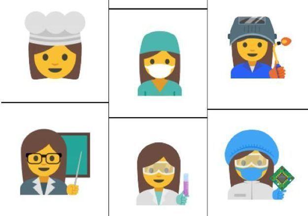 Emojis : enfin des femmes mécaniciennes et scientifiques !