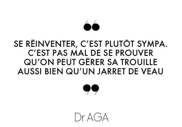 Dr AGA, éditorialiste à ELLE