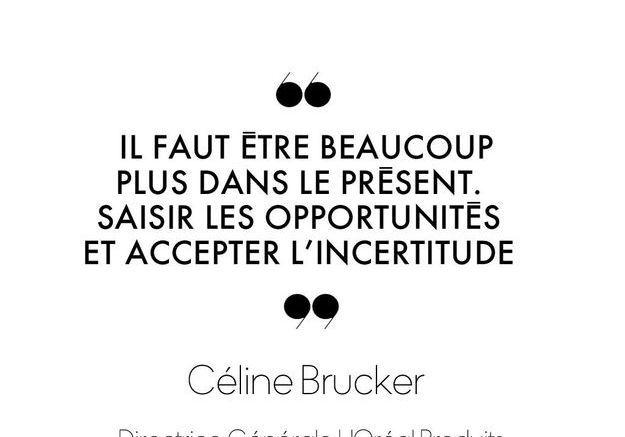 Céline Brucker, Directrice Générale L'Oréal Produits Grand Public France