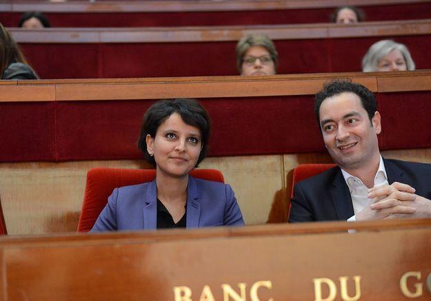 Najat Vallaud-Belkacem dans l'hémicycle du CESE