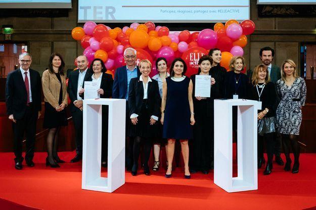 La charte ELLE Active/HeForShe