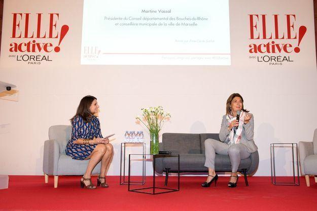 Anne-Cécile Sarfati et Martine Vassal