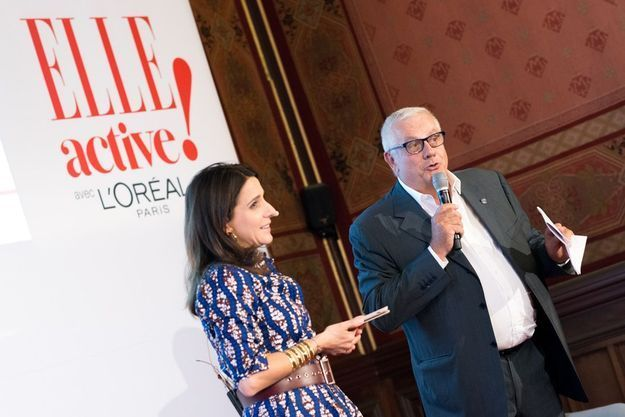Anne-Cécile Sarfati et Paul Chaffard