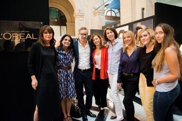 L'équipe ELLE et l'équipe L'Oréal Paris