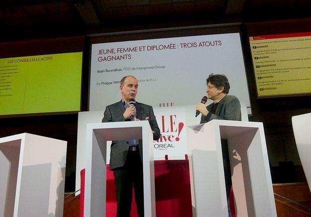 Alain Roumilhac et Philippe Trétiack