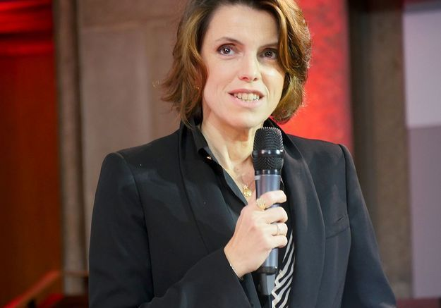 Françoise-Marie Santucci, directrice de la rédaction du magazine ELLE