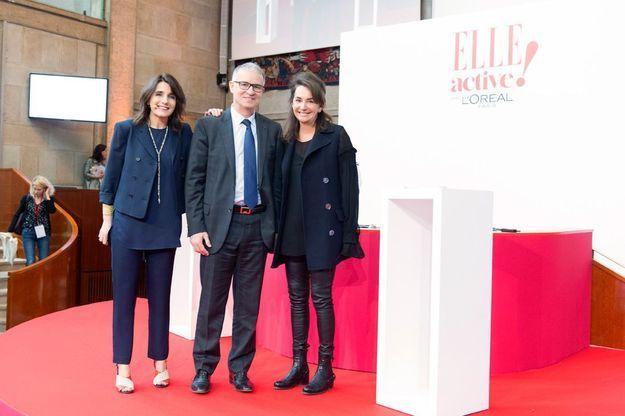 Anne-Cécile Sarfati, Patrick Bernasconi et Constance Benqué
