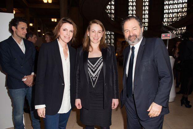 Françoise-Marie Santucci, Axelle Lemaire et Denis Olivennes