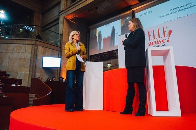 Katell Pouliquen et Axelle Lemaire