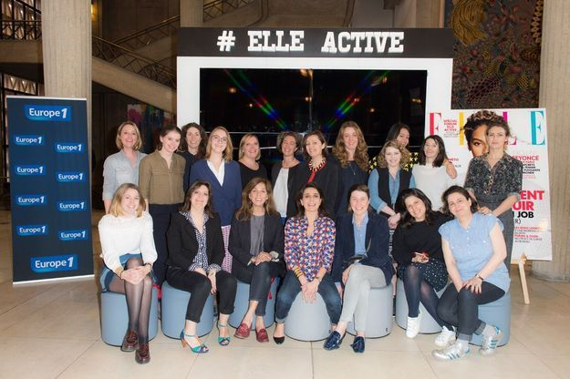 L'équipe du ELLE Active