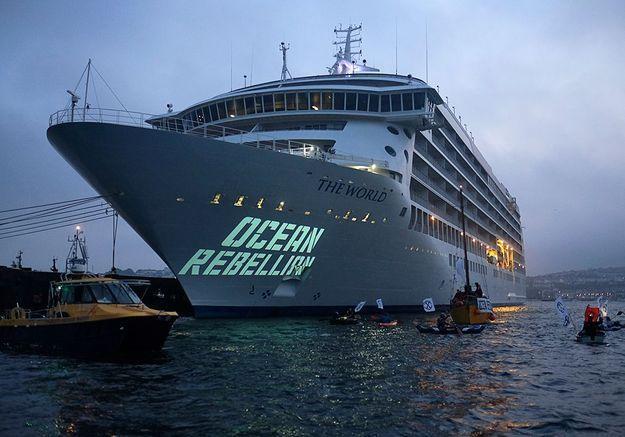 Au large avec les militants d'Ocean Rebellion